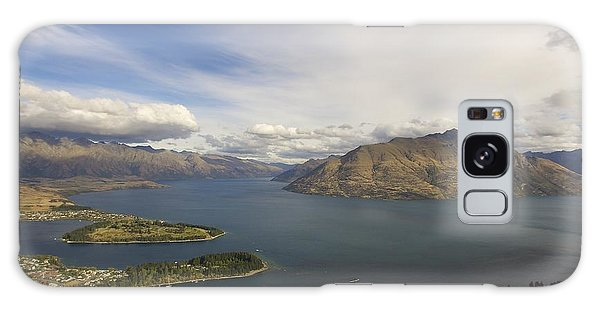 Above Queenstown #2 Galaxy Case by Stuart Litoff
