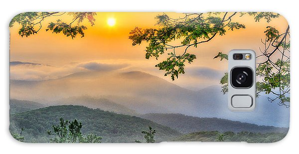 Above The Clouds - Blue Ridge Parkway Galaxy Case