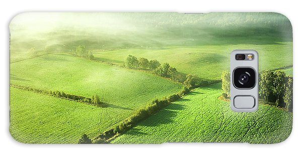 Farmland Galaxy Case - Above The Mist by Keller