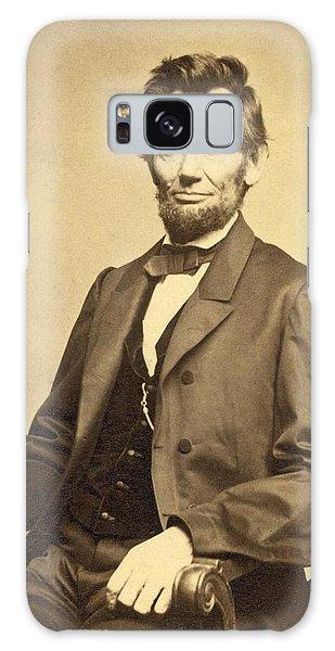 Us Civil War Galaxy Case - Abraham Lincoln 16th President by Georgia Fowler