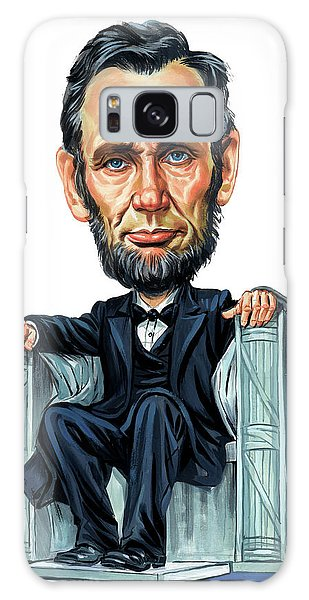 Abraham Lincoln Galaxy Case by Art