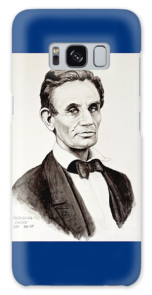 Abraham Lincoln At 49 Galaxy Case