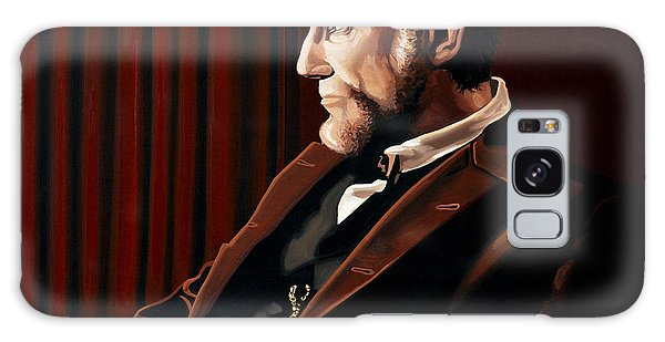 Abraham Lincoln Galaxy Case - Abraham Lincoln By Daniel Day-lewis by Paul Meijering