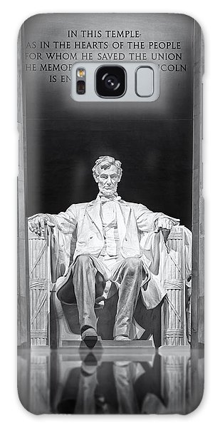 Galaxy Case featuring the photograph Abraham Lincoln Memorial by Susan Candelario