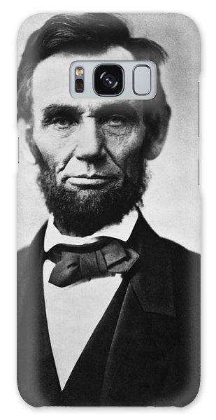 Us Civil War Galaxy Case - Abraham Lincoln by Georgia Fowler