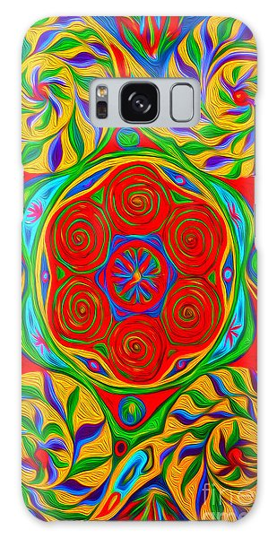 Abstract 01 Galaxy Case by Gregory Dyer