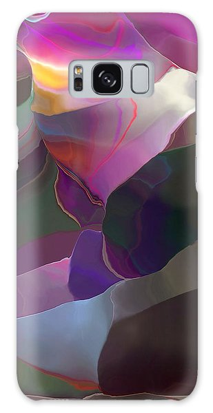 Abstract 033014 Galaxy Case by David Lane