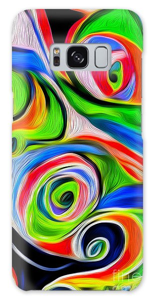 Abstract 04 Galaxy Case by Gregory Dyer