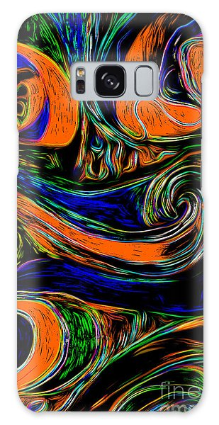 Abstract 06 Galaxy Case by Gregory Dyer