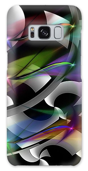 Abstract 072514 Galaxy Case by David Lane