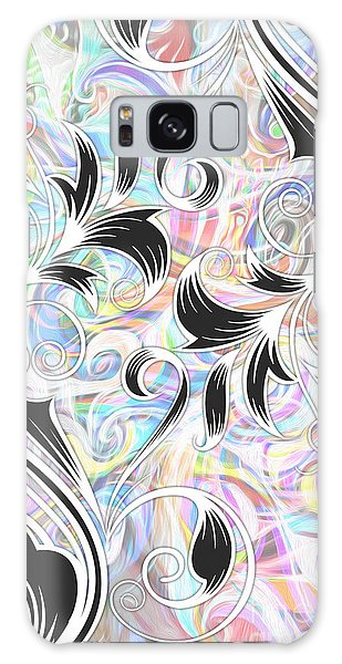 Abstract 08 Galaxy Case by Gregory Dyer