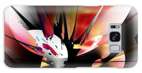 Abstract 082214 Galaxy Case by David Lane