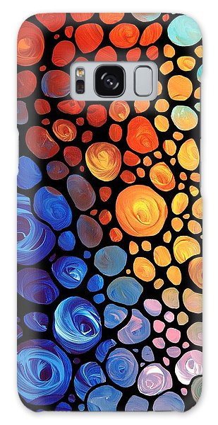 Abstract 1 - Colorful Mosaic Art - Sharon Cummings Galaxy Case