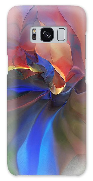 Abstract 121214 Galaxy Case by David Lane