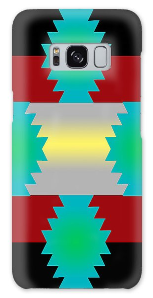 Abstract 38a Galaxy Case by Timothy Bulone