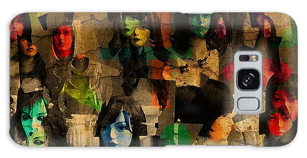 Abstract 39a Galaxy Case by Timothy Bulone