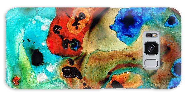 Scuba Diving Galaxy Case - Abstract 4 - Abstract Art By Sharon Cummings by Sharon Cummings