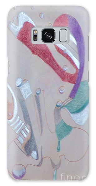 Abstract 9-12 Galaxy Case by Rod Ismay