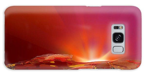 Abstract - Alien Sunrise Galaxy Case by rd Erickson