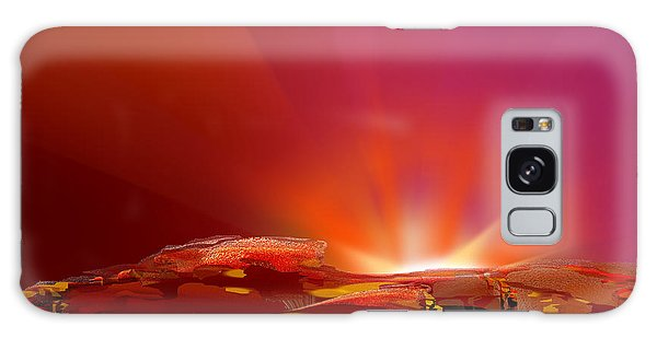 Abstract - Alien Sunrise Galaxy Case by rd Erickson