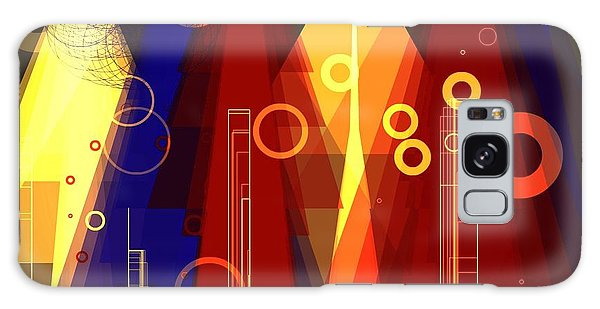 Abstract Art Deco Galaxy Case