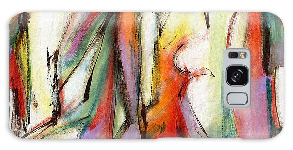 Abstract Art Forty-six Galaxy Case by Lynne Taetzsch