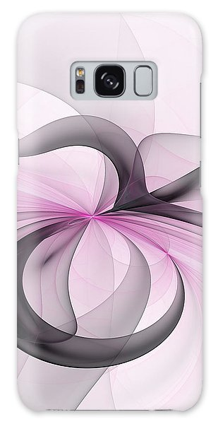 Abstract Art Fractal With Pink Galaxy Case