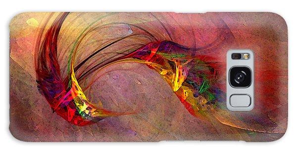 Abstract Art Print Hummingbird Galaxy Case