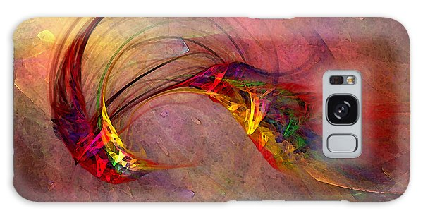 Abstract Art Print Hummingbird Galaxy Case