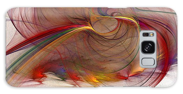 Abstract Art Print Inflammable Matter Galaxy Case