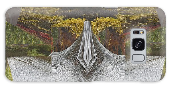 Abstract Art Shemale Treetrunk Nature Natural Eyes Breast   Graphic Artistic Conversion Of Photograp Galaxy Case