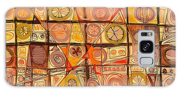 Abstract Art Sixty-five Galaxy Case by Lynne Taetzsch
