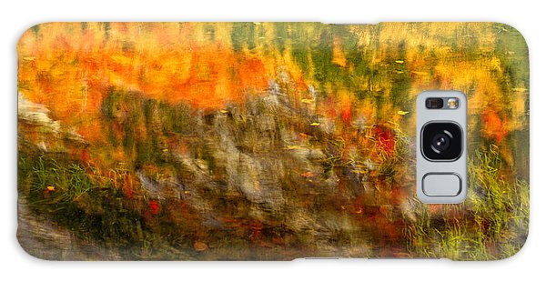 Abstract Autumn Reflections  Galaxy Case