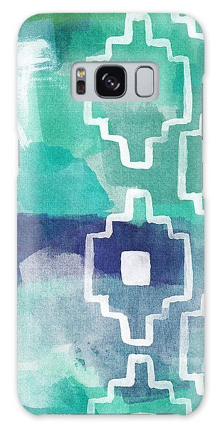 Abstract Aztec- Contemporary Abstract Painting Galaxy Case