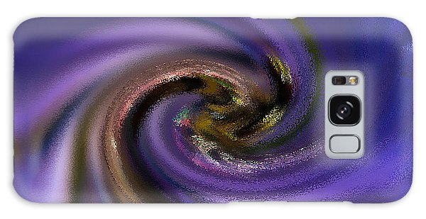 Abstract Bee On Chicory Galaxy Case