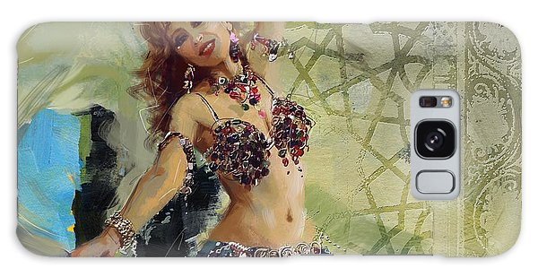 Abstract Belly Dancer 1 Galaxy Case