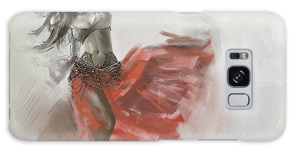 Abstract Belly Dancer 19 Galaxy Case