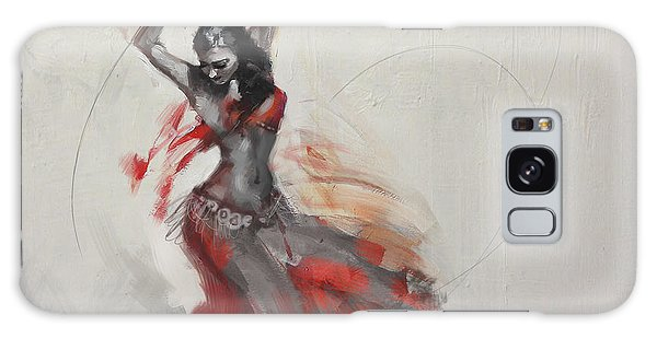Abstract Belly Dancer 21 Galaxy Case