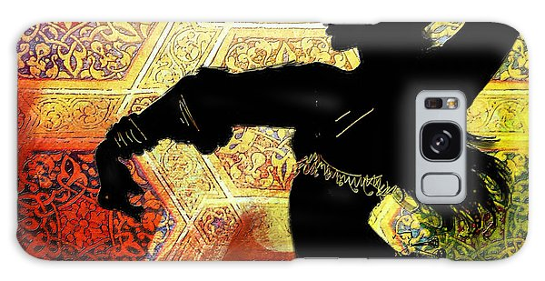 Abstract Belly Dancer 3 Galaxy Case
