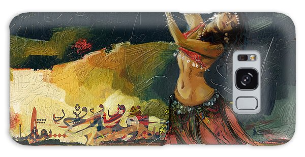 Abstract Belly Dancer 5 Galaxy Case