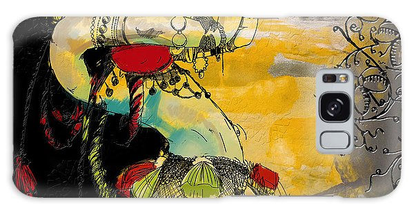 Abstract Belly Dancer 6 Galaxy Case