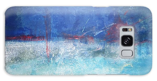 Abstract Blue Horizon Galaxy Case
