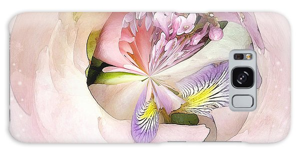 Abstract Bouquet Galaxy Case