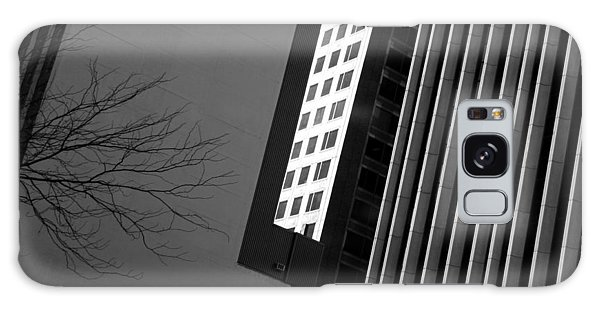 Abstract Building Patterns Black White Galaxy Case