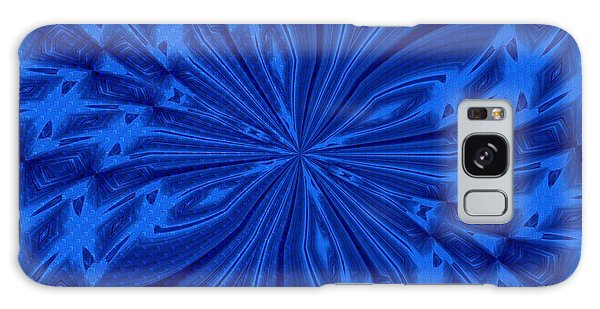 Abstract Butterfly Blue Galaxy Case