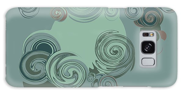Fairy Galaxy Case - Abstract Circles Pattern Background by Castecodesign