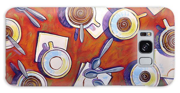 Abstract Coffee Art ... The Get Together Galaxy Case