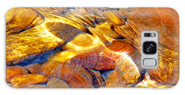 Abstract Creek Water 4 Galaxy Case