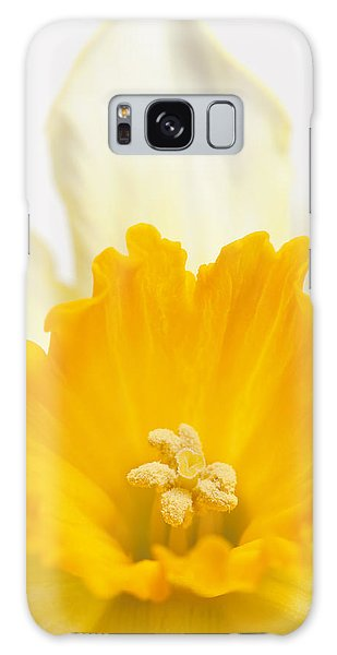 Abstract Daffodil Galaxy Case