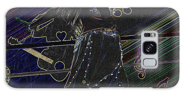 Abstract Dancer Galaxy Case